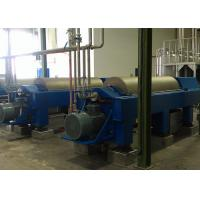 Wholesale High Efficiency Horizontal Decanter Centrifuge PVC Sludge Used 220V / 380V from china suppliers