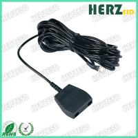 China Wire Diameter 2.2mm ESD Safety Strap Grounding PU Cord 1.8M / 2.5M With Socket on sale
