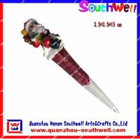 Wholesale Resin Pen With Santa Claus from china suppliers
