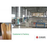 China Furniture Wicker Plastic Rattan Extrusion Line / Artificial Rattan wicking Production Line on sale