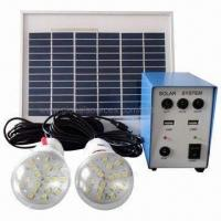 Wholesale Solar LED Lighting System for Home, with 50W Solar Panel and 5A Controller from china suppliers