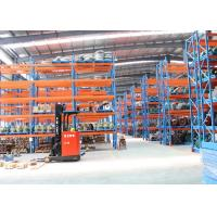 Best Cold Roll Steel Pallet Storage Racks / Multi Tier Racking System 88*66*2.0 Mm Uprights wholesale