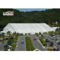Best Large White Military Airplane Tent , TFS Aircraft Tent Portable Rainproof for sale wholesale