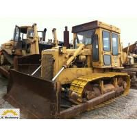 Enclosed Cabin Used Cat Bulldozer D6D With New Track / Cat 3306 Engine for sale