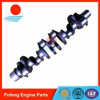 Wholesale Mitsubishi crankshaft supplier in China, hardening 6D24 6D24T crankshaft ME996148 for excavator and crane from china suppliers