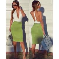 Best Anti - Wrinkle Deep V Neck Party Dress For Party / Club / Celebrity wholesale