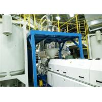 Buy cheap CE ISO 90mm Single Screw Extruder , Plastic Recycling Extruder Machine from wholesalers