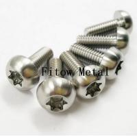 Buy cheap Titanium / Aluminum Torx Head Bolts . Torx Head Bolts Titanium Grade 5 (Ti-6A14V from wholesalers