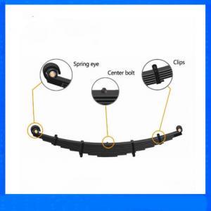 Quality Dark black Suspension Leaf Spring for Heavy Truck -102912100H for sale