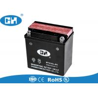 Wholesale 12v 5Ah Rechargeable Motorcycle Battery , Black Agm Motorcycle Battery from china suppliers