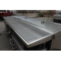 Stainless Steel Ultrasonic Blind Cleaning Equipment Energy Saving With Two Tanks