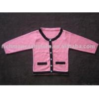 Buy cheap Girl Baby Cashmere Cardigan Language Option French from wholesalers