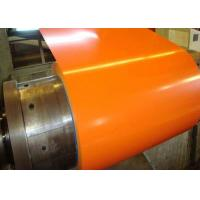 Wholesale Orange Pre Painted Galvanized Coils 0.18 - 0.2mm Thickness With Base Metal GI GL from china suppliers