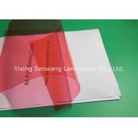 China 8 Mil PVC Binding Covers Clear Finish A4 Clear Front Report Cover on sale