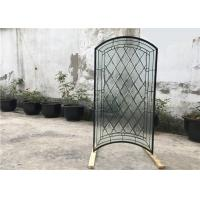China S010 Patterned Decorative Bathroom Window Glass Heat Insulation Various Shape on sale