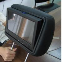 "9"" Car Seat LCD Screen For Advertising Display"