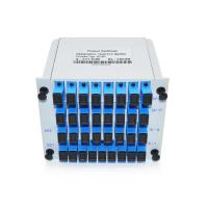 Slot Cassete Chasis Plug In Fiber PLC Splitter , 1x32 Fiber Optic Coupler Splitter