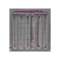 Wholesale Polyester Ahu 3500m³/H Pocket Air Filter / Bag Filter F7 To F9 Efficiency from china suppliers