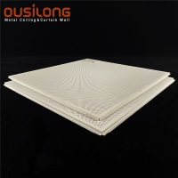 Wholesale Flat Pattern 600*600 Suspended Clip In Ceiling For Office from china suppliers