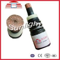 China High Voltage Power Cable With PVC Jacket on sale