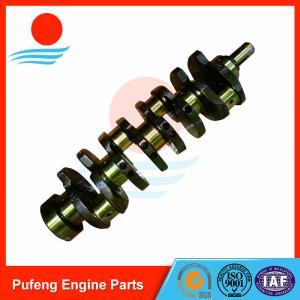Wholesale truck engine parts manufacturer 4JJ1 crankshaft 8973888280 for Isuzu D Max RODEO NLR85 from china suppliers