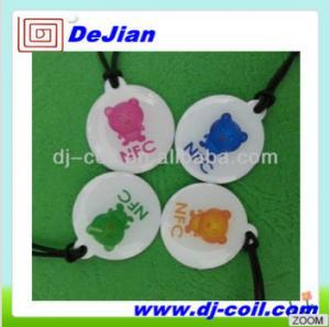 China 13.56Mhz NFC tag Ntag203 Epoxy/Sticker on sale