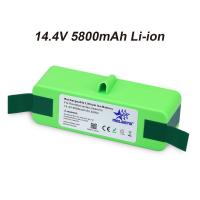 China 14.4V 5800mAh Li-iON iRobot Vacuum Cleaner replacement Battery for Roomba 500 600 700 800 Series 510 531 532 620 650 770 on sale