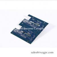 China HASL 1 OZ Double Sided PCB Board 2 Layer Squre Board For car light for sale