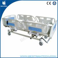Wholesale Adjustment 750mm ICU Electric Hospital Beds With 3 - Functions Home Care Use from china suppliers