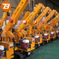 Wholesale 3T Spider Mini Crawler Crane with Duel Power and CE Certificates Promotion from china suppliers