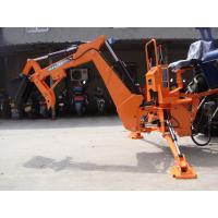 Three options for BH7600 implements, mechanical grab thumb, hydraulic grab thumb, ripper attachment