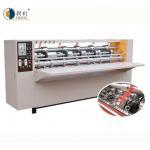 China Corrugated cardboard thin blade slitter scorer machine for sale