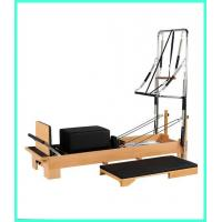 Buy cheap White Maple Wood Yoga And Pilates Equipment / Pilates Reformer Equipment from wholesalers