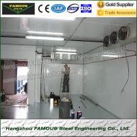 Durable Modular Cold Room Panel Insulation Food Processing Plant for sale