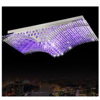 Wholesale Rectangle crystal ceiling lamp new style ceiling lamp from china suppliers