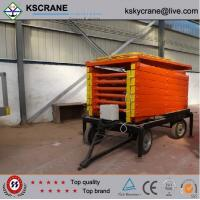 China High Working Efficiency Mobile Scissor Platform Lift on sale