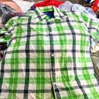 China High Quality Mixed Used Clothing Men Short Sleeve Shirt for sale