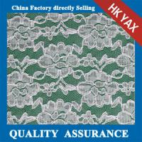 Wholesale china factory wholesale 2014 Hot selling Flower design full nylon Swiss lace fabric for evening dress from china suppliers