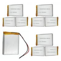 Wholesale Customized Security Alarm Batteries /  Lithium Polymer Cell With 80mm Length from china suppliers