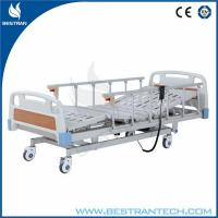Wholesale ABS Headboard / Footboard Electric Hospital Beds Individual Brakes Remote Control from china suppliers