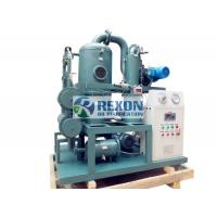 Wholesale Multi Stage Transformer Oil Purifier Machine , Transformer Oil Dehydration Plant ZYD-100 6000LPH from china suppliers