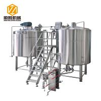 Micro Craft Small Microbrewery Equipment 5HL Stainless Steel Energy Saving Type