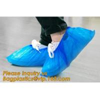 Wholesale THICK DISPOSABLE,DUST-PROOF,CPE COATED,SMS BOOT COVER,NON WOVEN SHOE COVER,heavy duty polypropylene fabric shoes cover from china suppliers