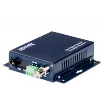 China 1-channel video+1-channel reverse data RS485 media fiber optical transmitter on sale