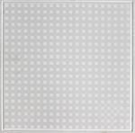 Grade AA Aluminum Alloy Fireproof Artistic Ceiling Tiles Oxygen Etching
