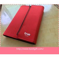 Wholesale new fashion style PU leather notebook with zipper closure or magnet from china suppliers