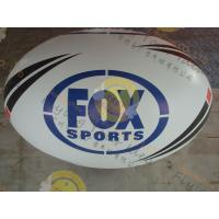 Wholesale Attractive 1.5m Inflatable Rugby Ball Helium PVC Wind - Resistant from china suppliers