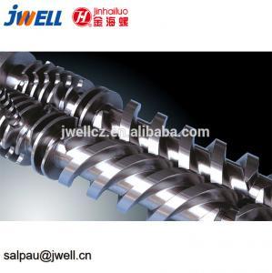 China Pvc Profile Injection Molding Screws And Barrels Spray Bimetallic Coating on sale