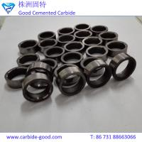 Buy cheap Tungsten carbide mechanism flat seal ring in tool parts customized tungsten from wholesalers