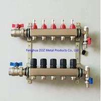 China Underfloor Heating Manifolds Stainless Steel UFH Manifold for sale